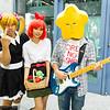 Sister, P-ko, and Hoshi