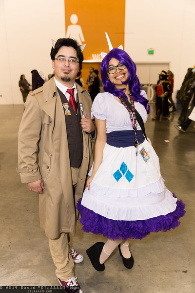 Dr. Hooves and Rarity