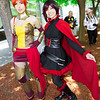 Pyrrha Nikos and Ruby Rose