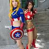 Captain America and Ironette
