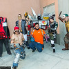 Claptrap, Mr. Torgue, Handsome Jack, Salvador, Deathtrap, Gaige, and Scooter