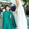 Frodo Baggins and Galadriel