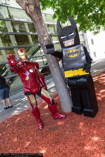 Iron Man and Batman