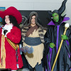 Captain Hook, Shan Yu, and Maleficent