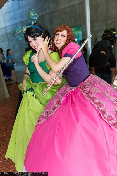 Drizella Tremaine and Anastasia Tremaine