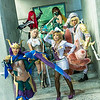 Quinn, Katarina, Janna, Ahri, Akali, Ezreal, and Valor