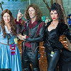 Belle, Rumplestiltskin, and Evil Queen