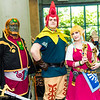 Ganondorf, Groose, and Princess Zelda