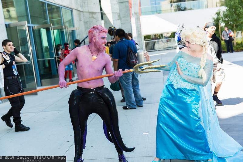 Ursula and Elsa