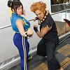 Chun-Li and Akuma