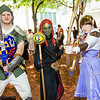 Link, Ganondorf, and Princess Zelda