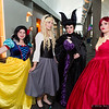 Snow White, Briar Rose, Maleficent, and Dark Phoenix