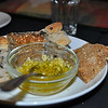 Let's dive into Cafe Aroma's delectable garlic spread for their delicious bread.