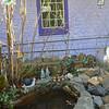 Fairy pond in Idylwild's Village shops.
