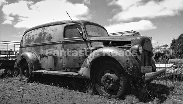 Classic American Panel Van