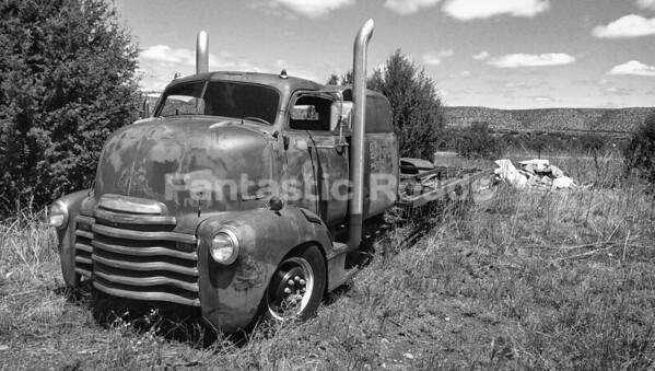 1950's Chevrolet  COE Flatbed Truck