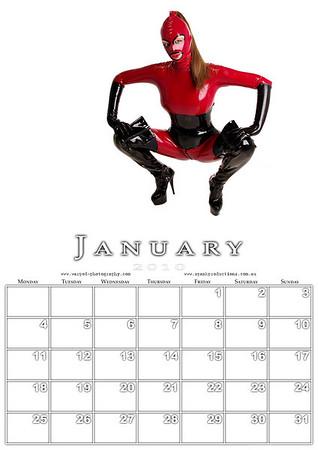 1 January Calendar example