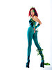Poison Ivy body suit with matching gauntlets and shoe covers.