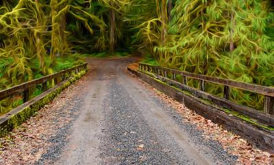 Central Oregon Bridge entrance