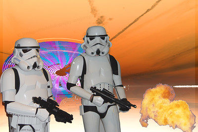 Storm troopers and ufo