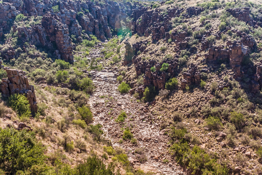 View of Tiger Canyons