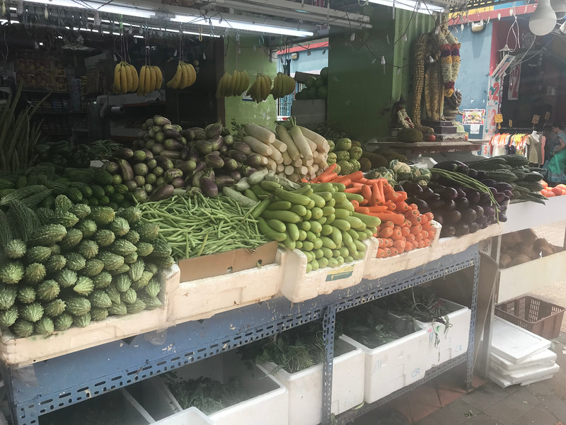 Vegetable stand, Singapore