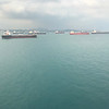 Leaving Singapore's busy port