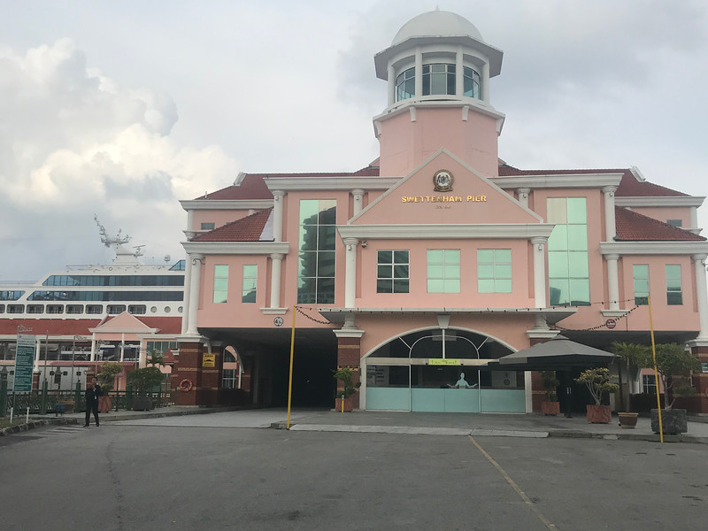 Penang, Malaysia port