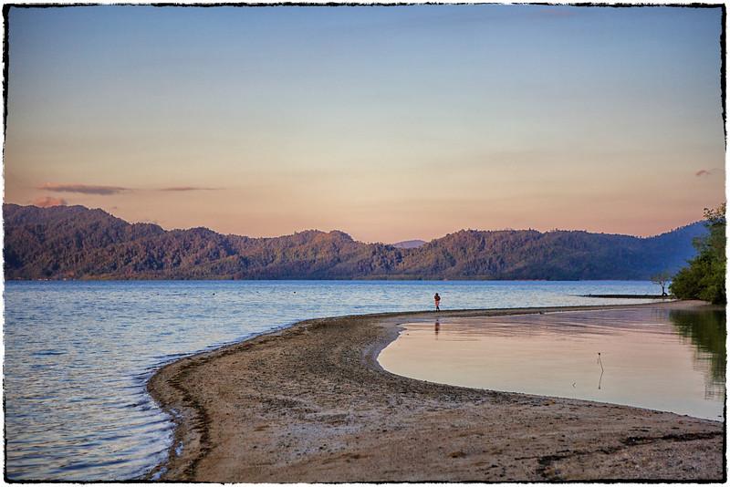 Sandbar at dawn 1