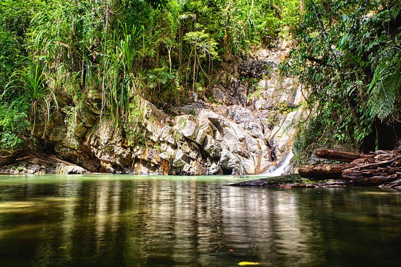 Pamawayan Falls