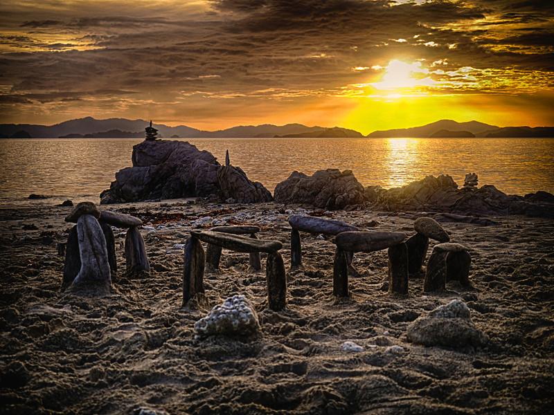 """Stonehenge on """"Japanese"""" Island"""