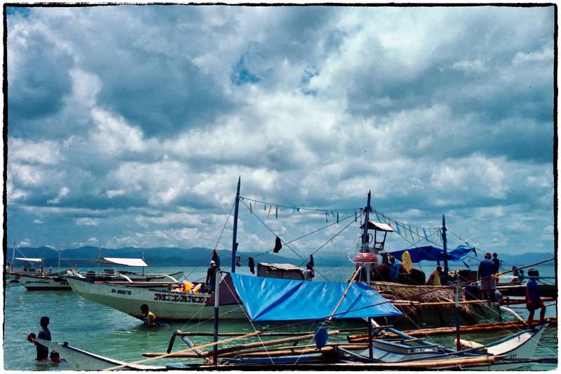 Fishing boats near San Vicente