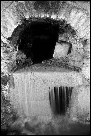 Roman Gutters; Bath, England