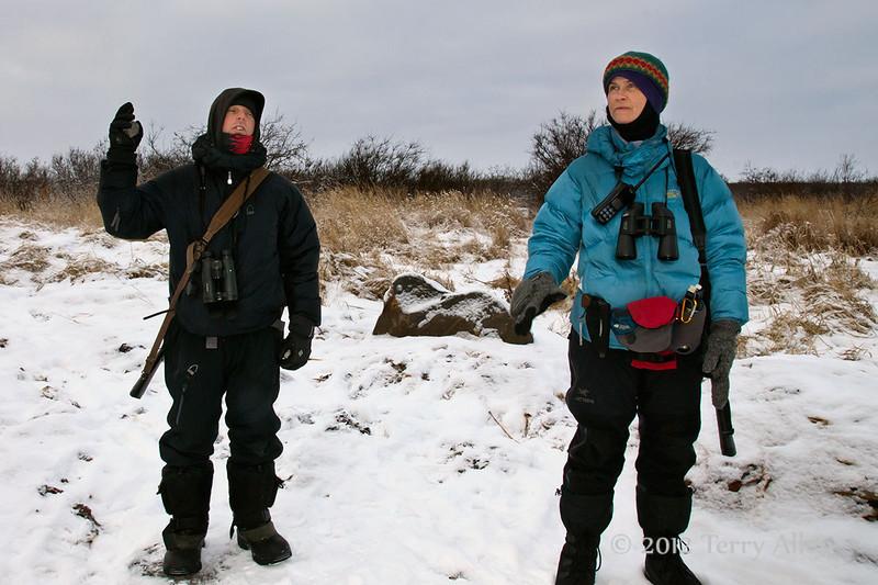 'Gunning'-for-polar-bears, Seal River Lodge, Manitoba