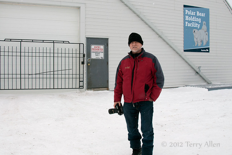 Polar-bear-holding-facility-Churchill, Manitoba