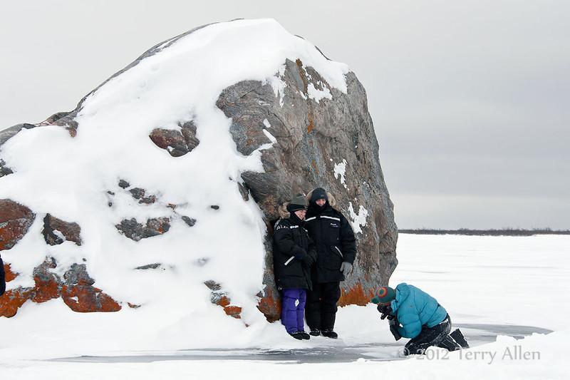 Glacial-erratic-7, Seal River Lodge, Manitoba