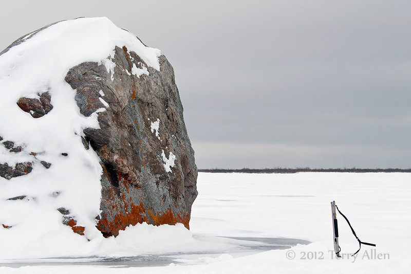 Glacial-erratic-5, Seal River Lodge, Manitoba