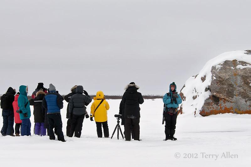 Glacial-erratic-2, Seal River Lodge, Manitoba