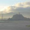 Misty Bogota mountains