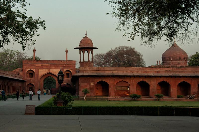 Taj Mahal entrance area