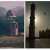 Dome on the corner of Mehtab Bagh (Moonlight Garden) - Taj Mahal Minaret