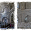 Inside the mausoleum