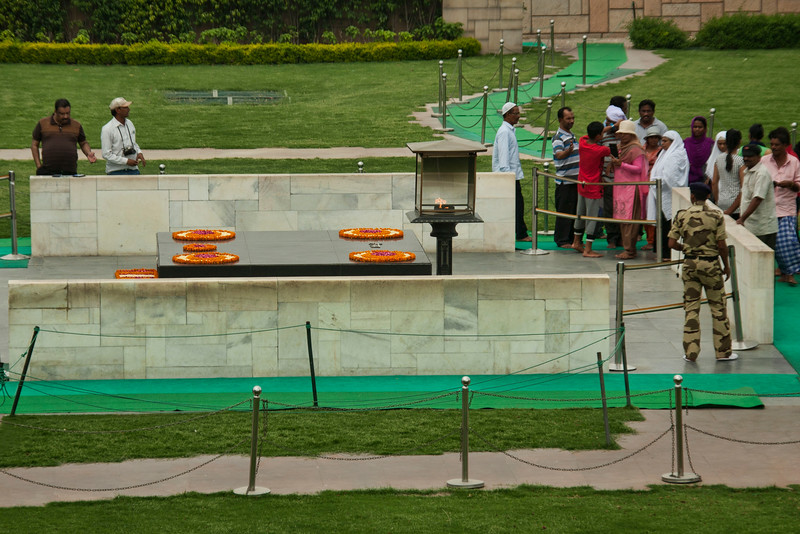 Ghandi's Tomb