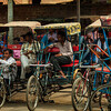 Shahi Jama Masijd rickshaws