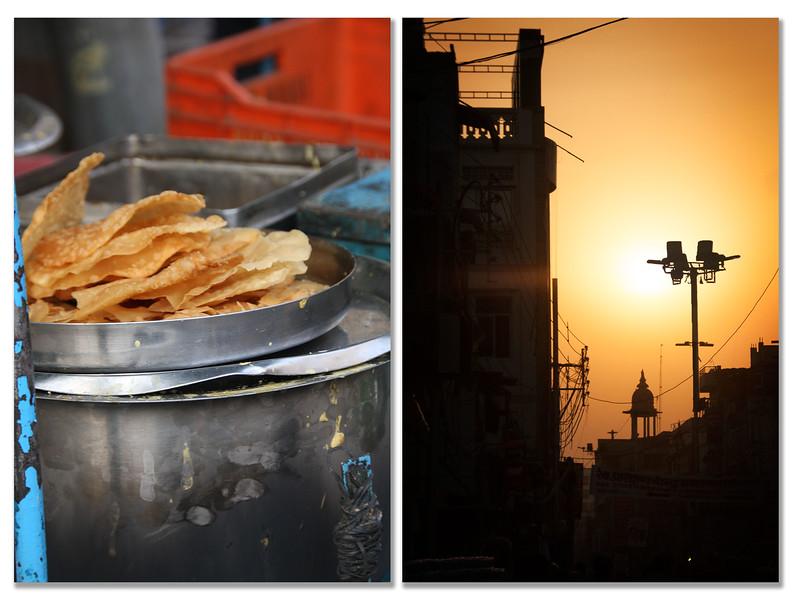 Street snack - Sunset