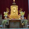 Mulagandha Kuty Vihara. Buddhist Temple Interior