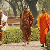 Buddhist Monks at Sarnath