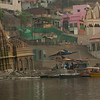 Ganges Varanasi shoreline