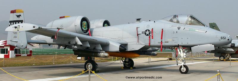 82-0651/51 OG Fairchild A10C Thunderbolt II USAF