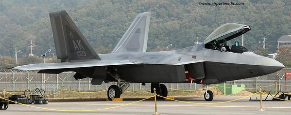 06-4123 Lockheed Martin F22A Raptor USAF